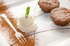 Ice-cream dessert Royalty Free Stock Photo
