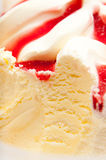 Ice cream detail Royalty Free Stock Photography