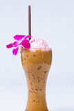 Ice cream float Stock Images