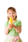 Ice-cream girl Royalty Free Stock Images