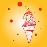 Ice-cream Royalty Free Stock Images