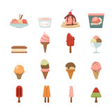 Ice Cream icon. Illustration of ice cream icon Stock Image