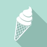 Ice cream icon Royalty Free Stock Photography