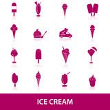 Ice cream icons eps10 Stock Photo