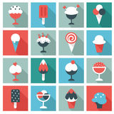 Ice cream  icons Stock Images
