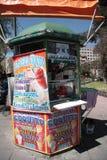 Ice Cream kiosk in La Paz, Bolivia Royalty Free Stock Images