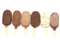Ice cream lolly Stock Photos