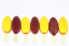 Ice cream lolly Royalty Free Stock Photos