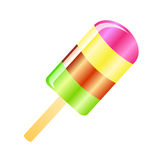 Ice cream lolly background Stock Photo