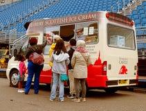 Ice cream lovers. Stock Photography