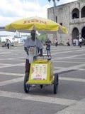 Ice cream man Stock Images