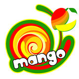 Ice cream mango Stock Photos