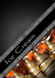 Ice Cream Menu Stock Images