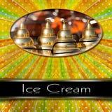 Ice Cream Menu Royalty Free Stock Photo