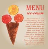 Ice cream 8 Stock Images