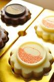 Ice Cream Mooncake Stock Photo