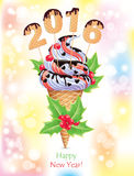 Ice Cream 2016 Royalty Free Stock Images