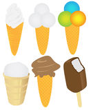 Ice cream pack Stock Photo