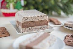 Ice cream parfait Stock Photography