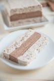 Ice cream parfait Stock Photo