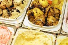 Ice cream parlor Stock Image
