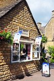 Ice Cream Parlour, Bourton on the Water. Royalty Free Stock Photography