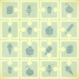 Ice Cream Pattern Royalty Free Stock Images