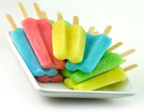 Ice cream pops Royalty Free Stock Photo