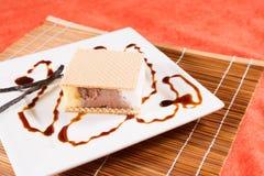 Ice cream portion Stock Photos