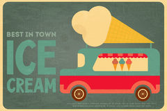 Ice Cream Posters Royalty Free Stock Photos