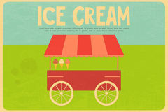 Ice Cream Posters Royalty Free Stock Images