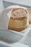 Ice cream sandwich stock image