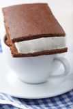 Ice cream sandwich Stock Image