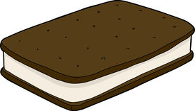 Ice Cream Sandwich Royalty Free Stock Photo