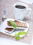 Ice cream sandwich Royalty Free Stock Images