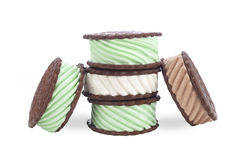 Ice cream sandwiches Royalty Free Stock Image