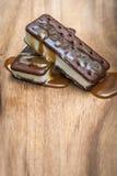 Ice cream sandwiches Stock Images