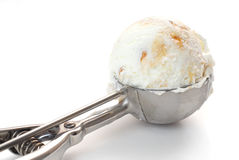 Ice cream scoop Royalty Free Stock Photography
