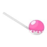 Ice cream scoop icon Stock Photo