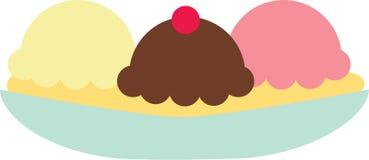 Ice Cream Scoops Stock Images