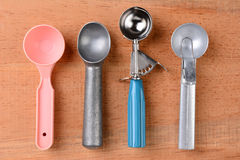 Ice Cream Scoops Stock Images