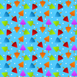 Ice cream Seamless Pattern Stock Image