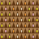 Ice cream seamless pattern Royalty Free Stock Photo