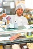 Ice cream seller Royalty Free Stock Photo