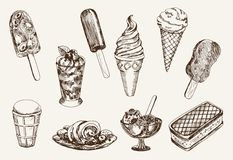 Ice-cream Royalty Free Stock Photos