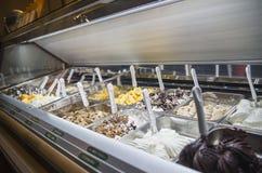 Ice-cream shop stock photo