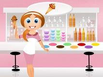 Ice cream shop Stock Photography