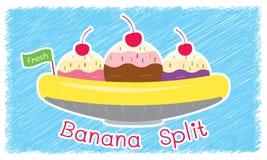 Ice cream shop thank you card. Royalty Free Stock Photos