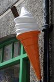 Ice Cream Sign Royalty Free Stock Photos