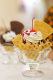Ice Cream in smal place Royalty Free Stock Photography